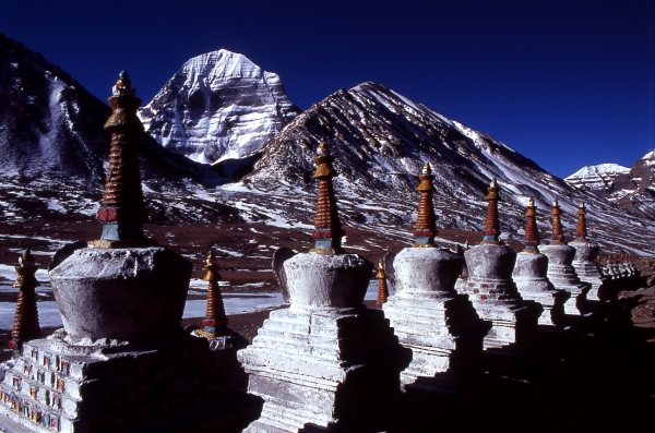 Mt Kailash/Yungdrung Gutsek/Gang Ti-Se (Precious Snow Mountain)