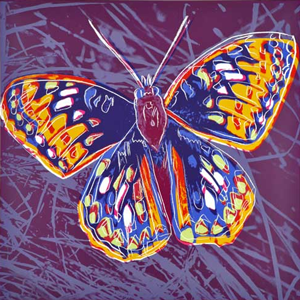 Butterfly, Andy Warhol