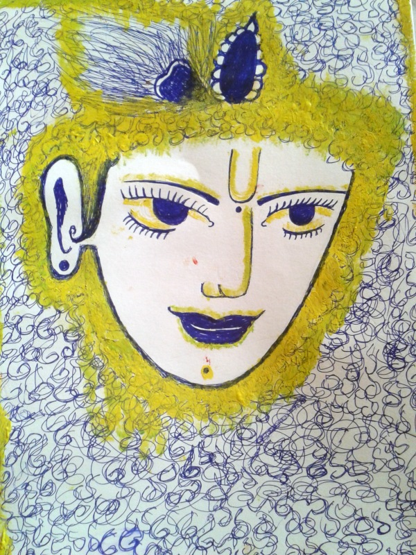 Lord Krishna, Monalisa