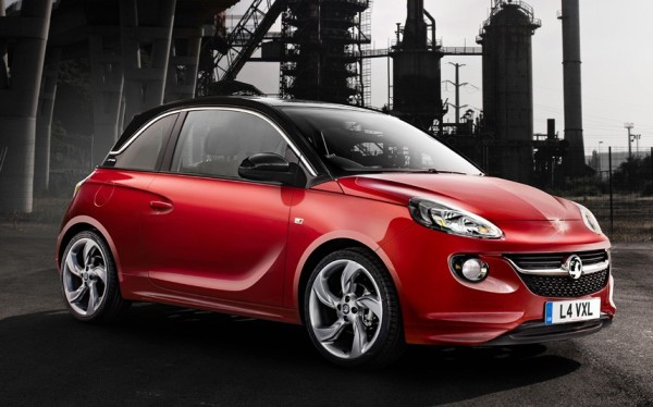 Vauxhall Adam/source the Telegraph, UK