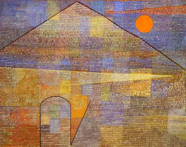 Parnassum, 1932, Paul Klee