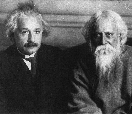 Tagore and Einstein, July 1930