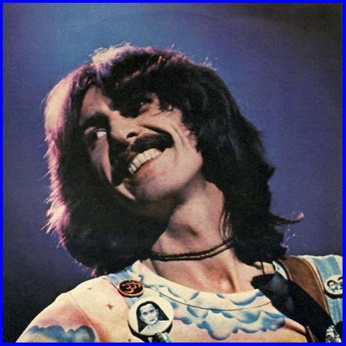 George Harrison in Concert: Wearing Maha-Avatar Babaji Medallion