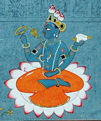 Lord Vishnu, Indian Art