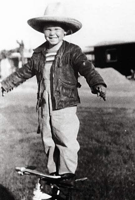 Jim Morrison as a child