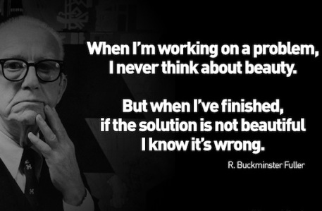 Buckminster Fuller- American philosopher, systems theorist, architect, and inventor