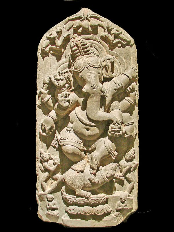 Dancing Ganesha sculpture from North Bengal, 11th century AD, Asian Art Museum of Berlin (Dahlem)